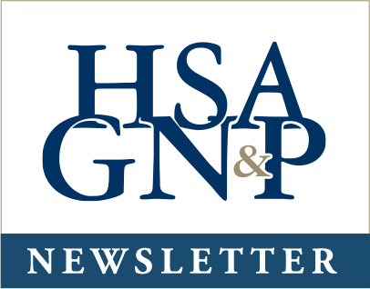 Signup to receive the HSAG newsletter